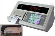 上海耀华XK3190-A9+p称重显示器,带打印A9+P称重显示器多少钱