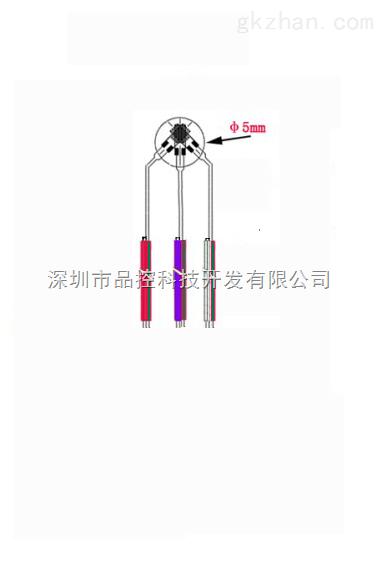 接线端子处采用公母快速接头