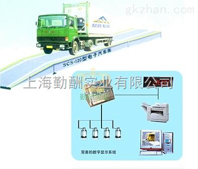 电子汽车衡显示器仓库、货场、车间SCS系列电子汽车衡k