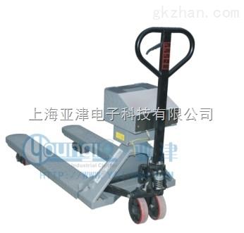 2.5T不锈钢叉车秤橡胶厂行业专用高防爆等级0.5T防爆叉车秤