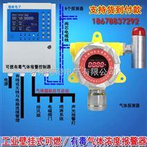 烤漆车间香蕉水气体泄漏报警器,防爆型可燃气体探测器与防爆电磁阀门怎么连接