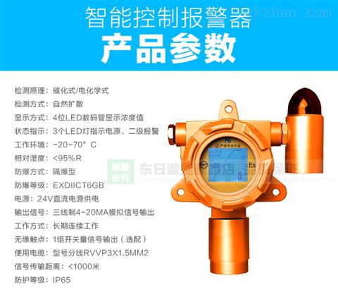 泵吸式硫化氢气体声光报警器