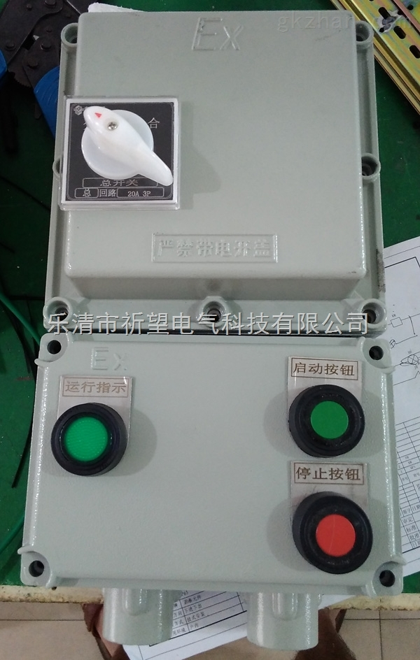 bqd53-32a防爆电磁启动器bqc防爆可逆磁力启动器