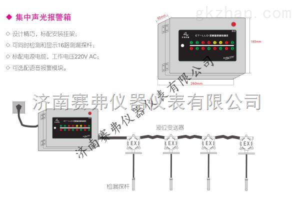 安徽吉林成都云南天津双层管道泄漏报警器24小时时时监测