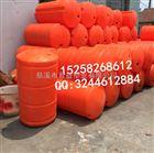 广州沙滩浴场水上塑料护栏 警示隔离墩