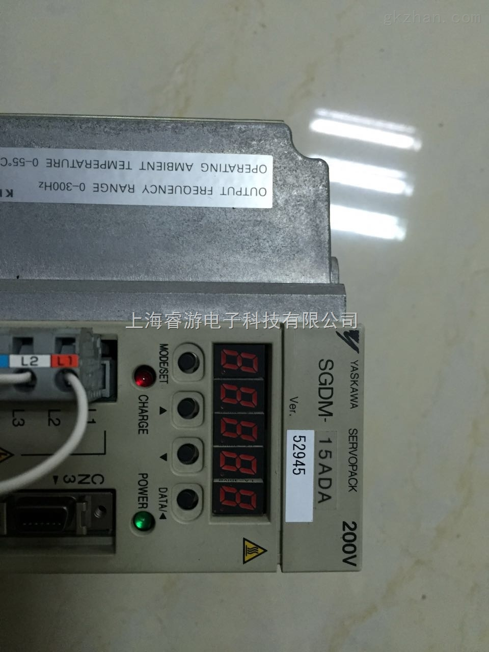 哪里可以维修上海安川伺服驱动器SGDH-02BE