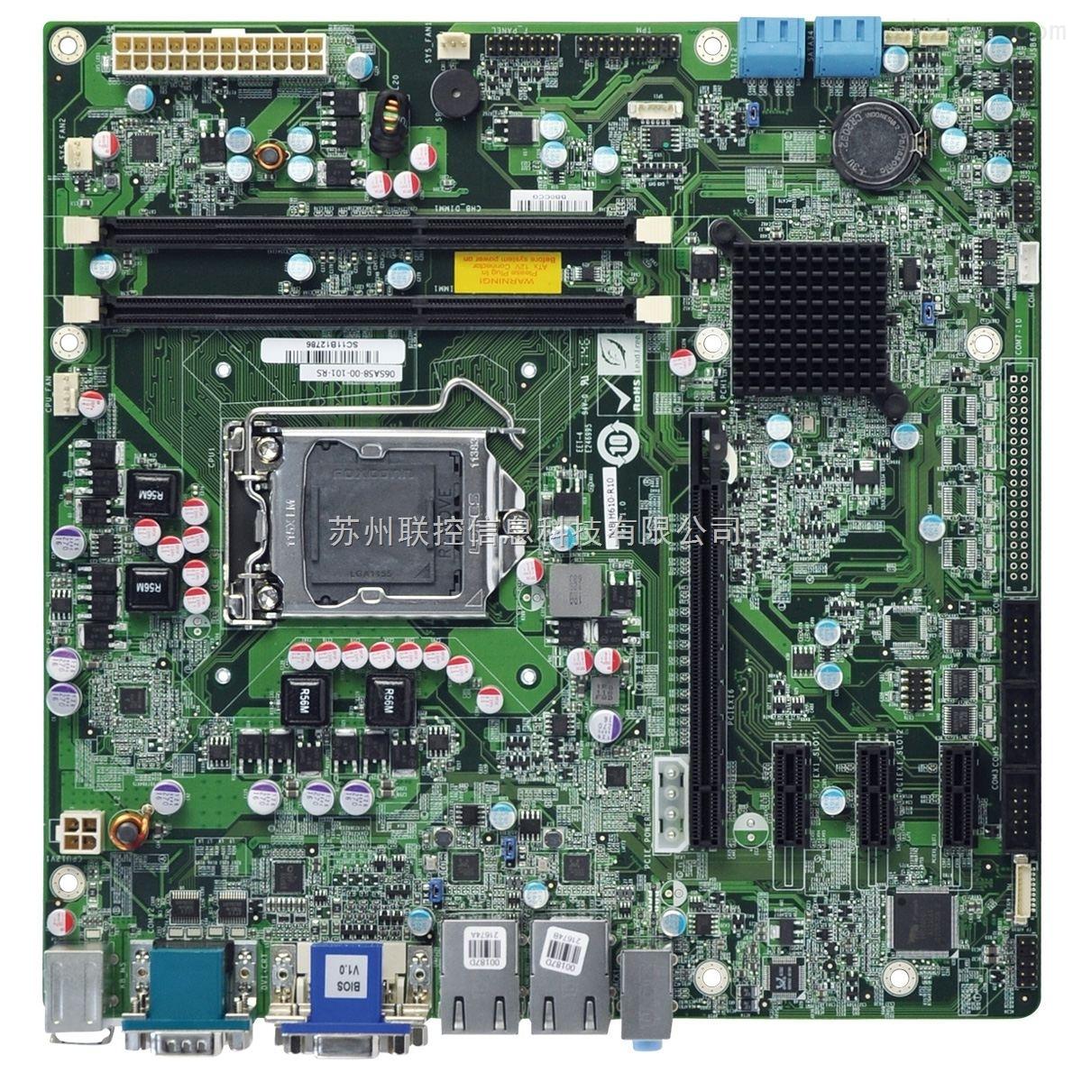 �_�惩���IMB-H610A嵌入式工控主板H61芯片�M6串口