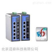 Moxa EDS-408A-摩莎8口智能网管型以太网交换机