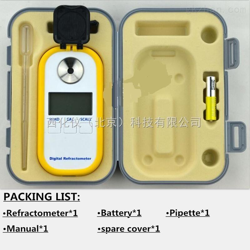 西化仪ZXJ供数显蜂蜜折光仪 型号:DR301库号:M405726