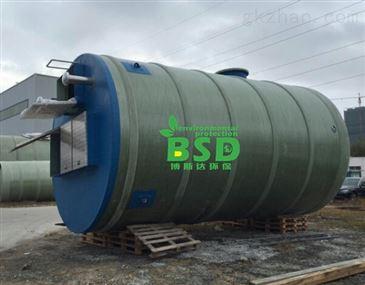 grp一体化污水提升泵站免费设计方案