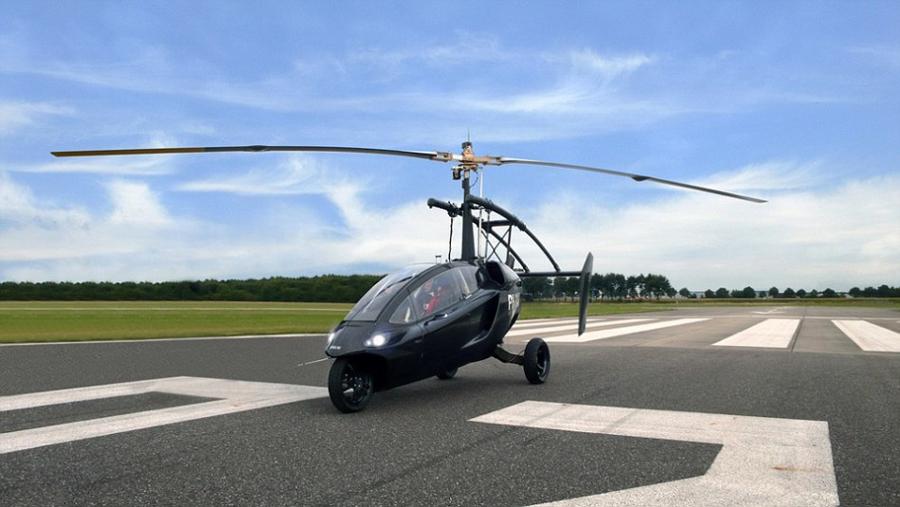"""汽车+直升机:""""可飞行汽车""""或成真"""