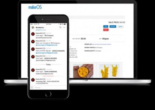 MakerOS再添新功能 3D打印业务管理更便捷