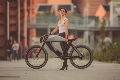 3D打印版本的Bicicletto电动自行车问世