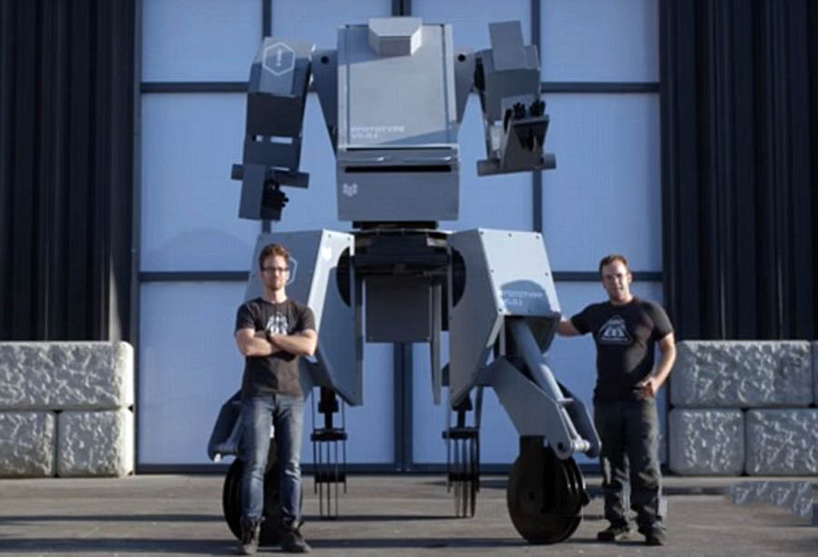 """又一逆天巨型机器人""""黑科技""""来袭"""
