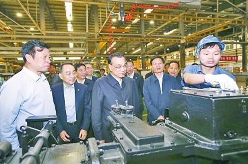 李克強:中國制造2025需要大馬力發動機