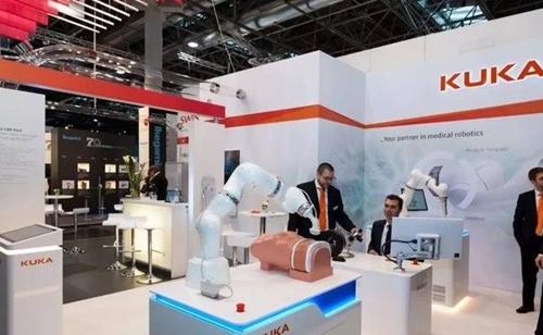 KUKA在亞洲市場推出醫療行業機器人LBR Med