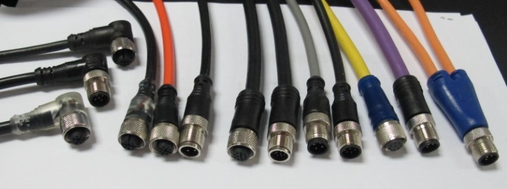 M12接插线带线