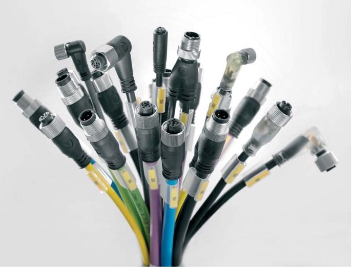 DeviceNet总线电缆粗主干线连接器系统I/O信号连接器
