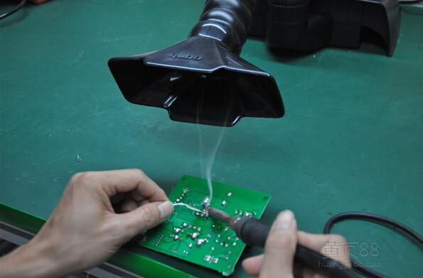 铅锡烟雾净化器 电子厂烙铁焊除烟,富士康电路